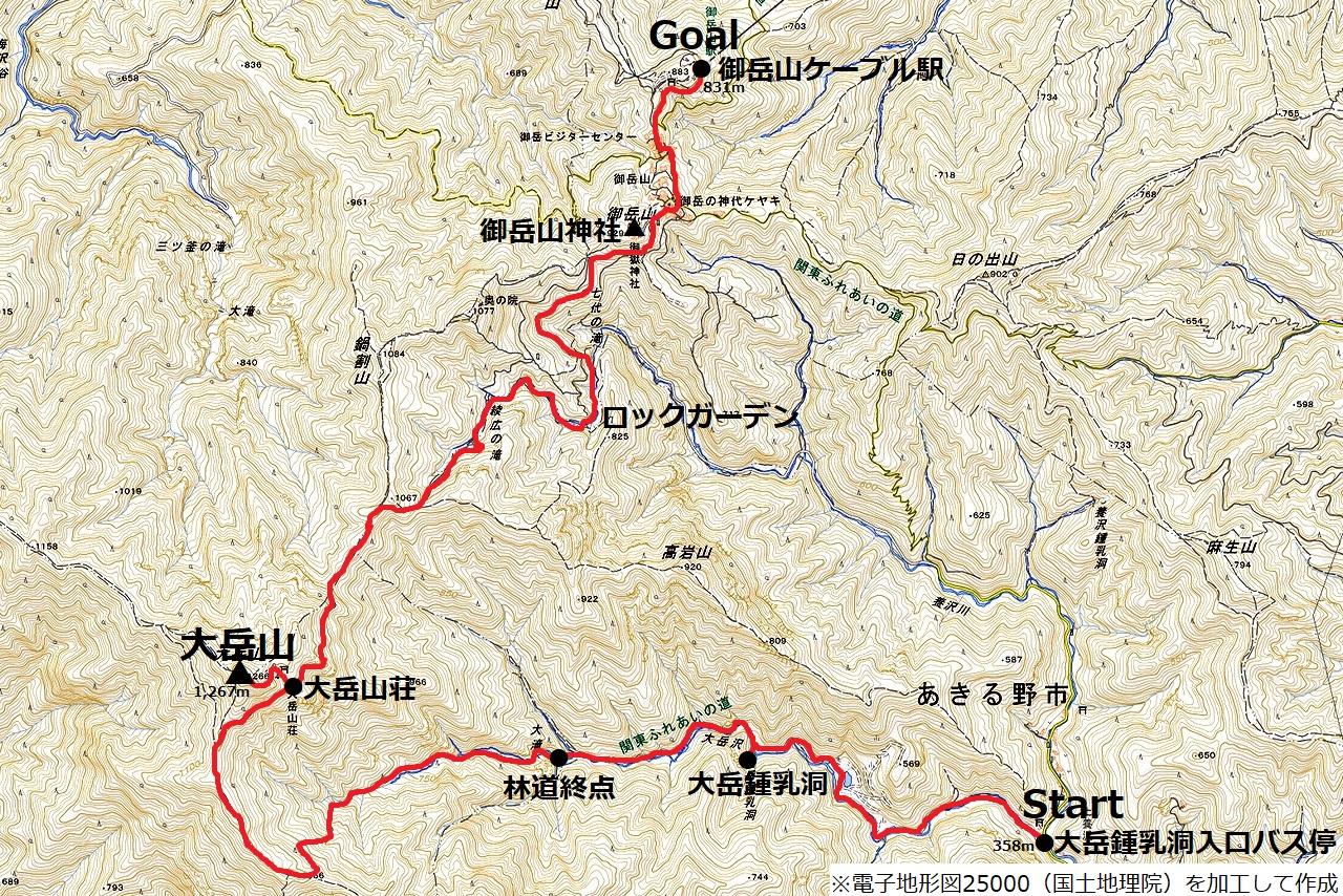 180617大岳山_map