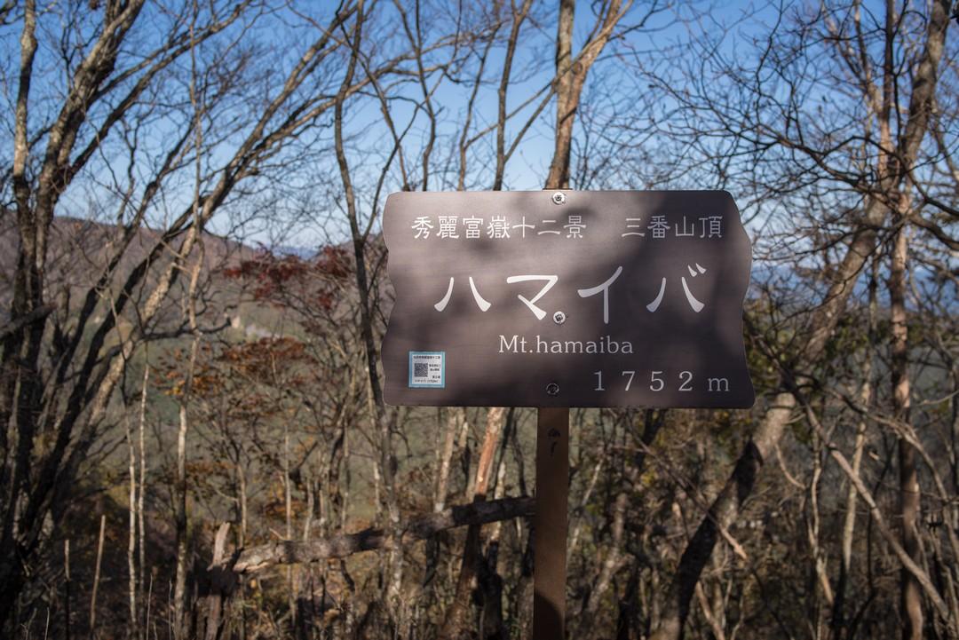 ハマイバ丸の山頂