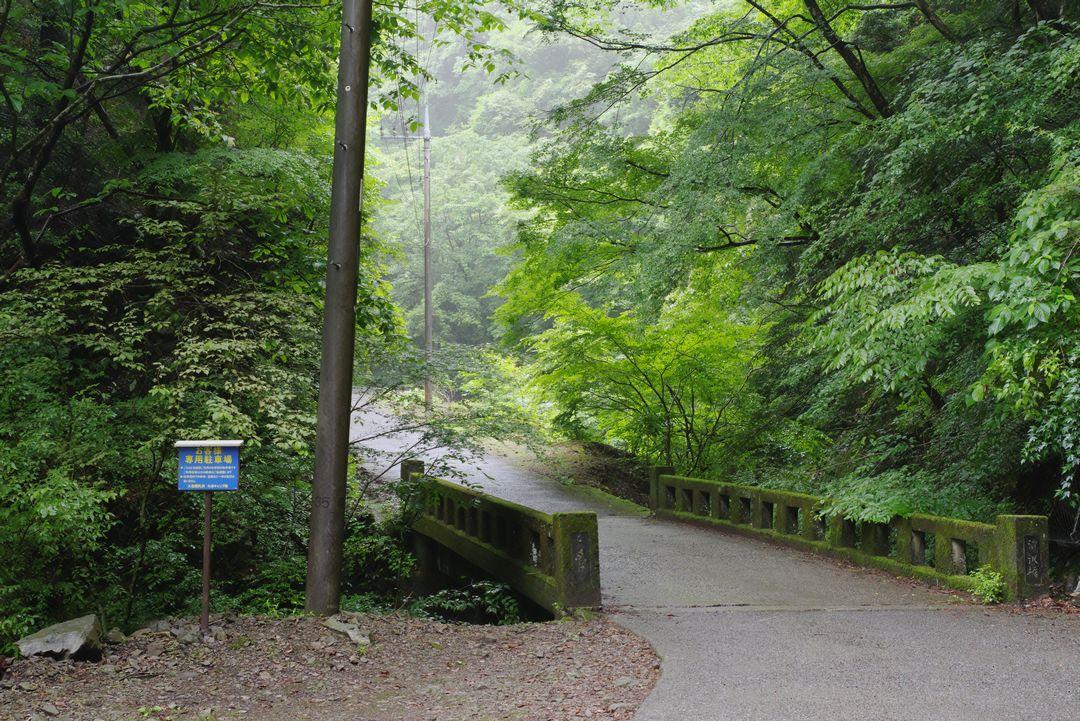 林道大岳線の橋