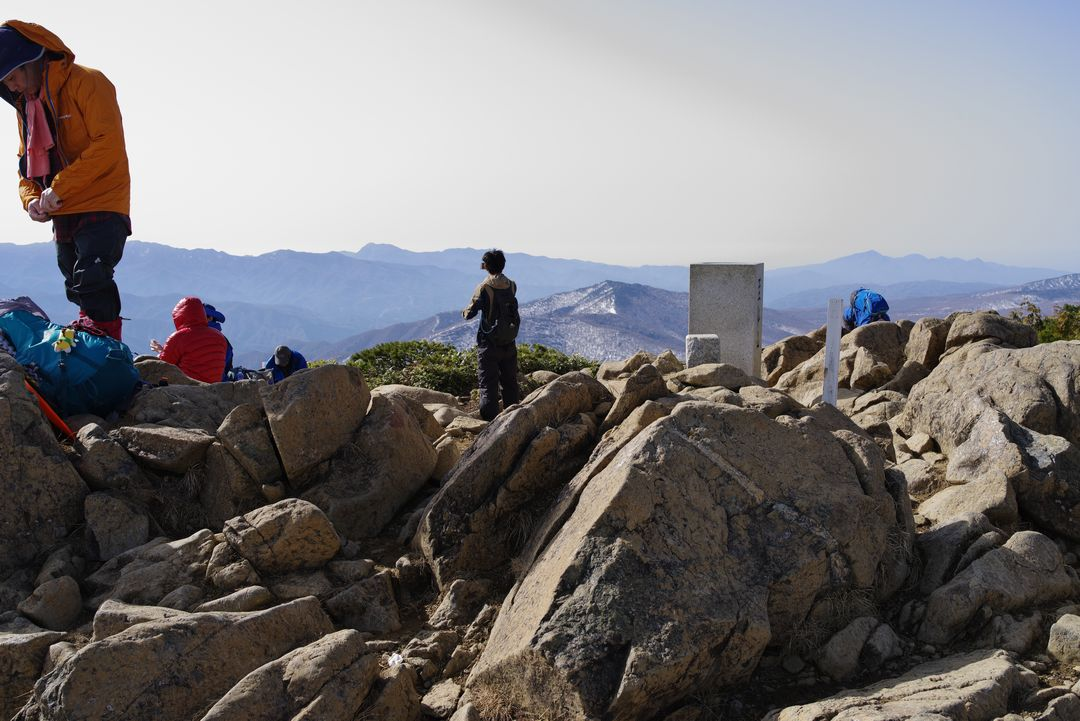 至仏山 山頂の様子