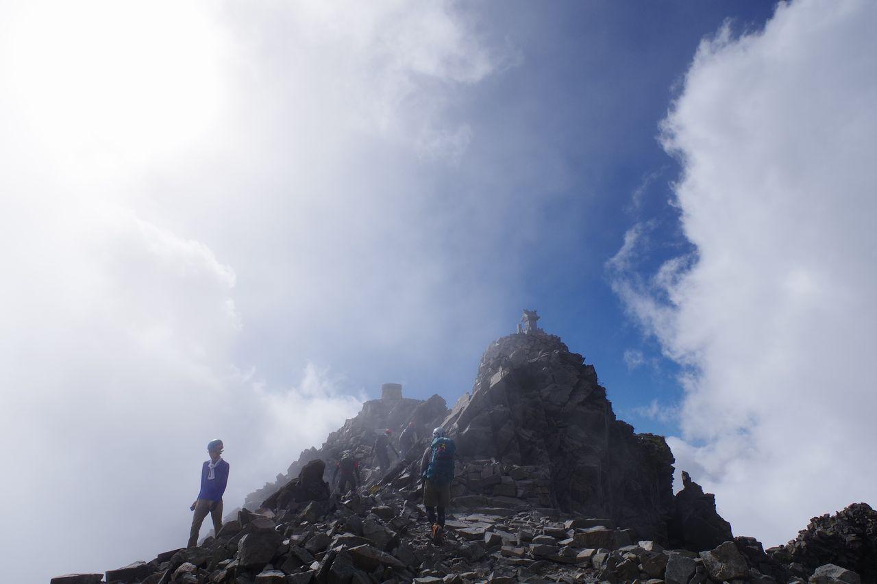 奥穂高岳の山頂