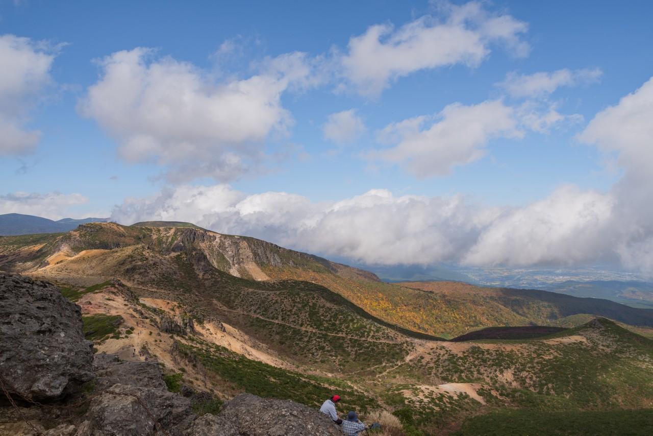 安達太良山山頂からの眺望