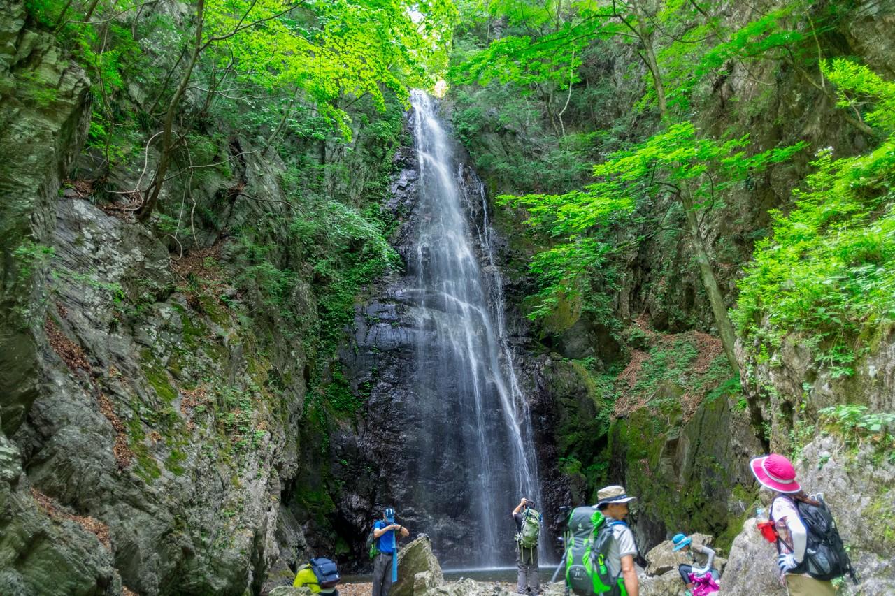 川苔山 百尋の滝