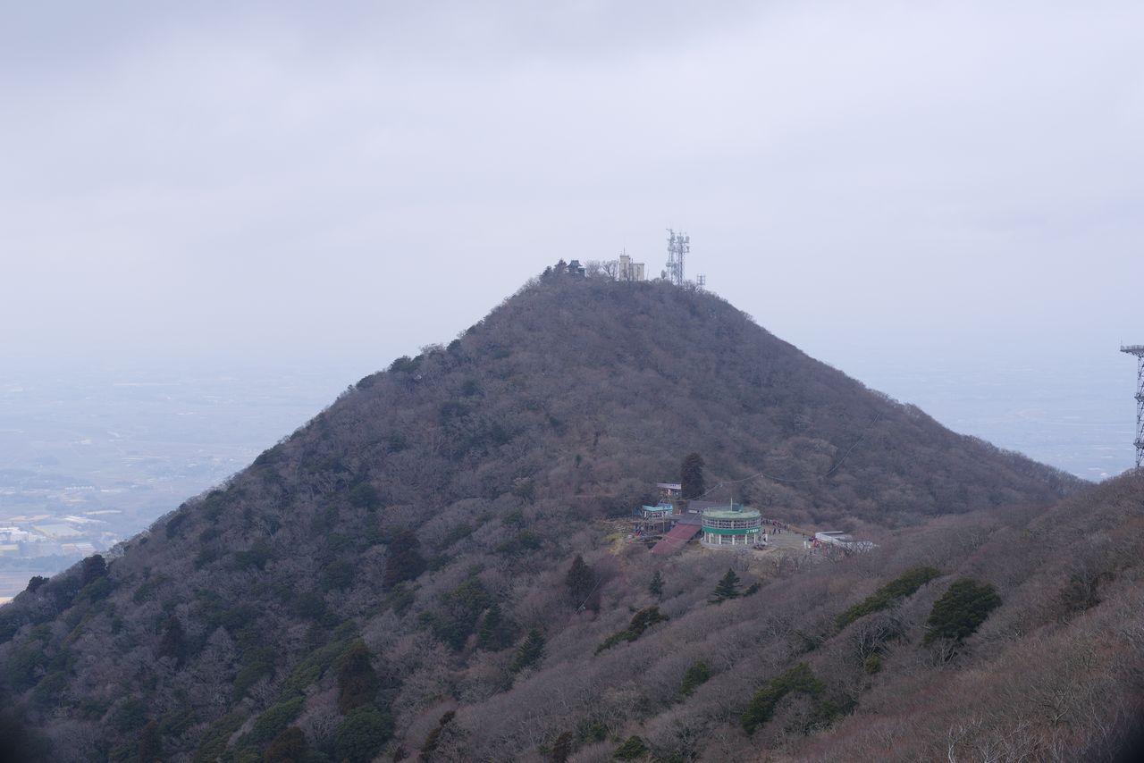 筑波山 女体山から見た男体山