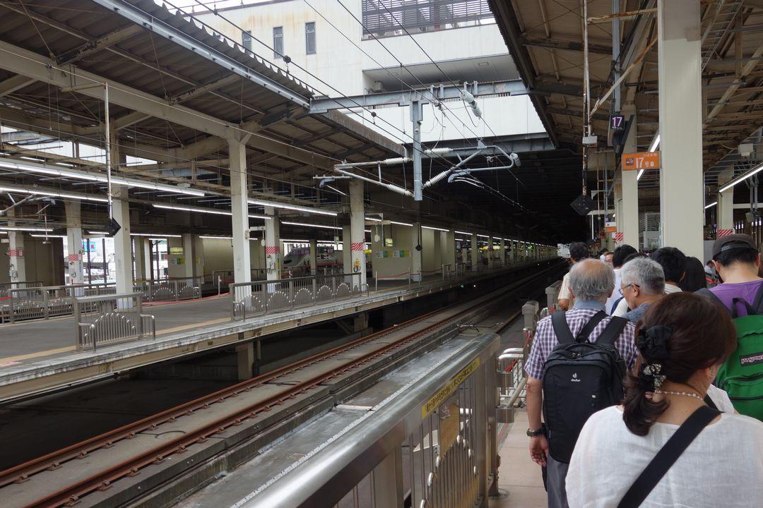 大宮駅 新幹線ホーム