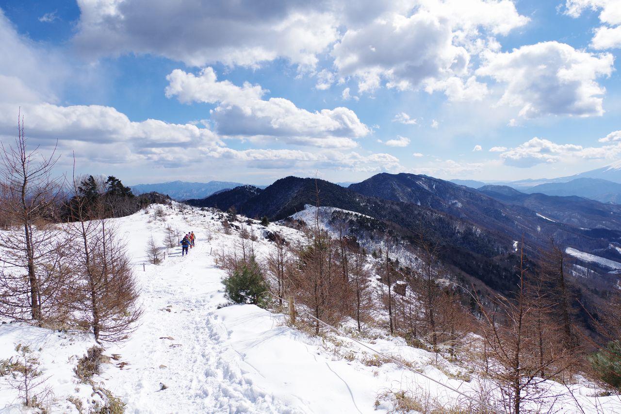 雪の大菩薩嶺