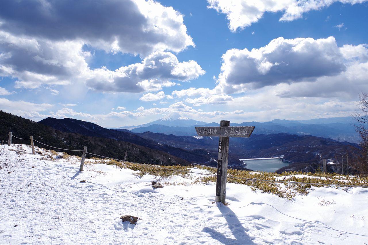 冬の大菩薩嶺