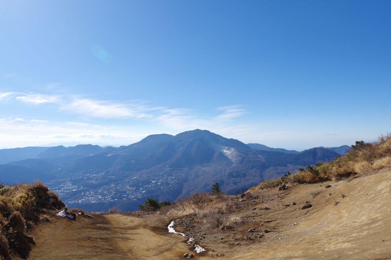 明神ヶ岳から見た神山