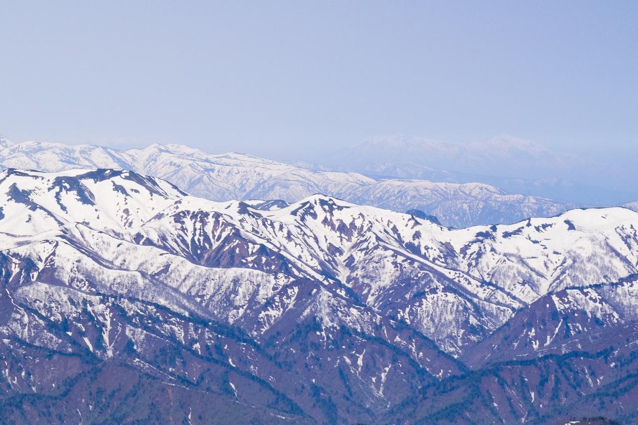 至仏山から見た妙高、火打
