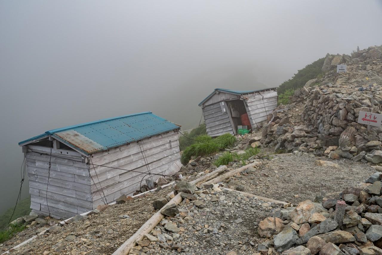 農鳥小屋のトイレ