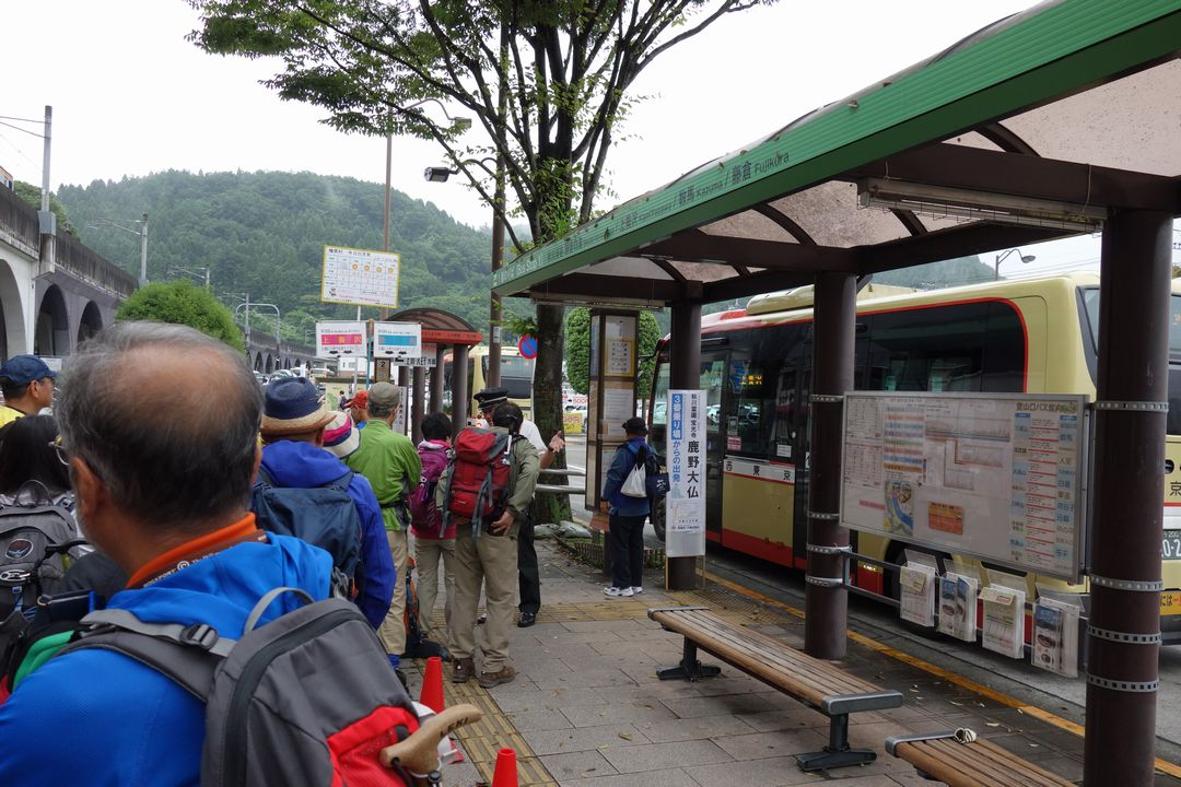 武蔵五日市駅 上養沢行きのバス