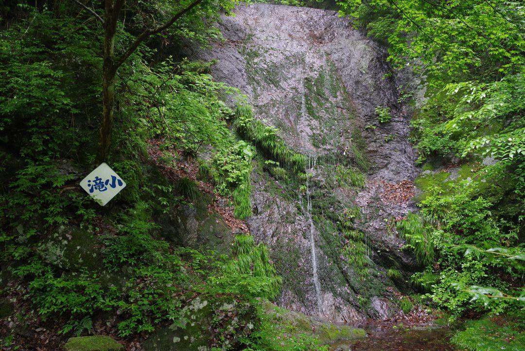 林道大岳線の小滝