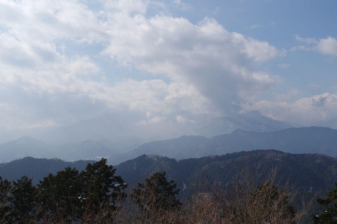 高尾山 展望台からの光景