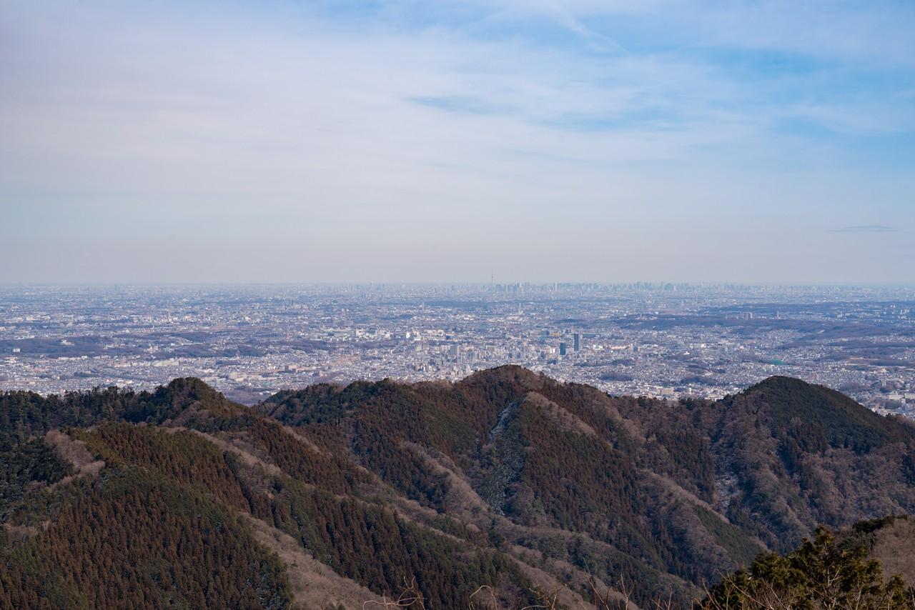 景信山からの眺望