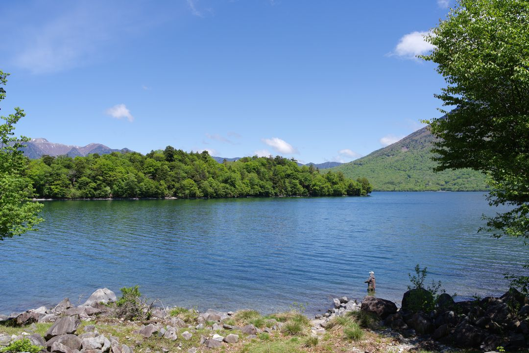 中禅寺湖 八丁出島