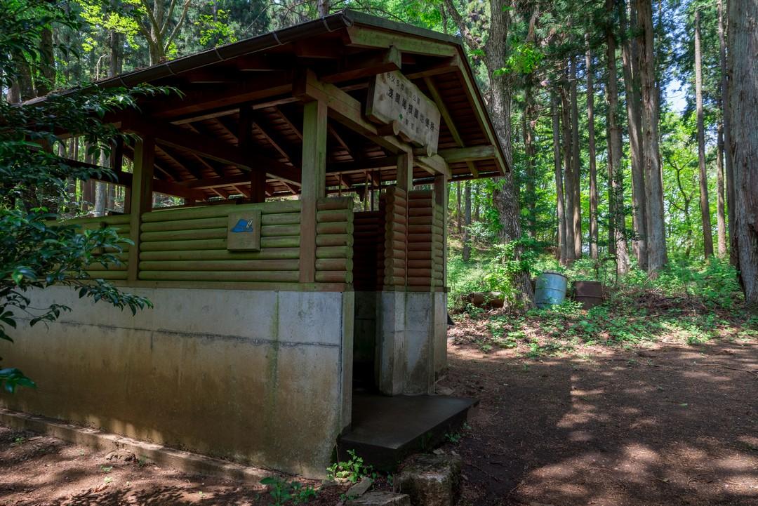 浅間嶺のトイレ