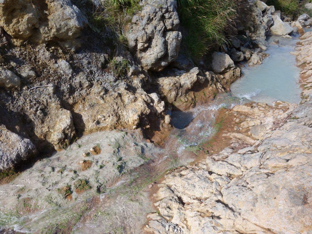 栗駒山 乳白色の川