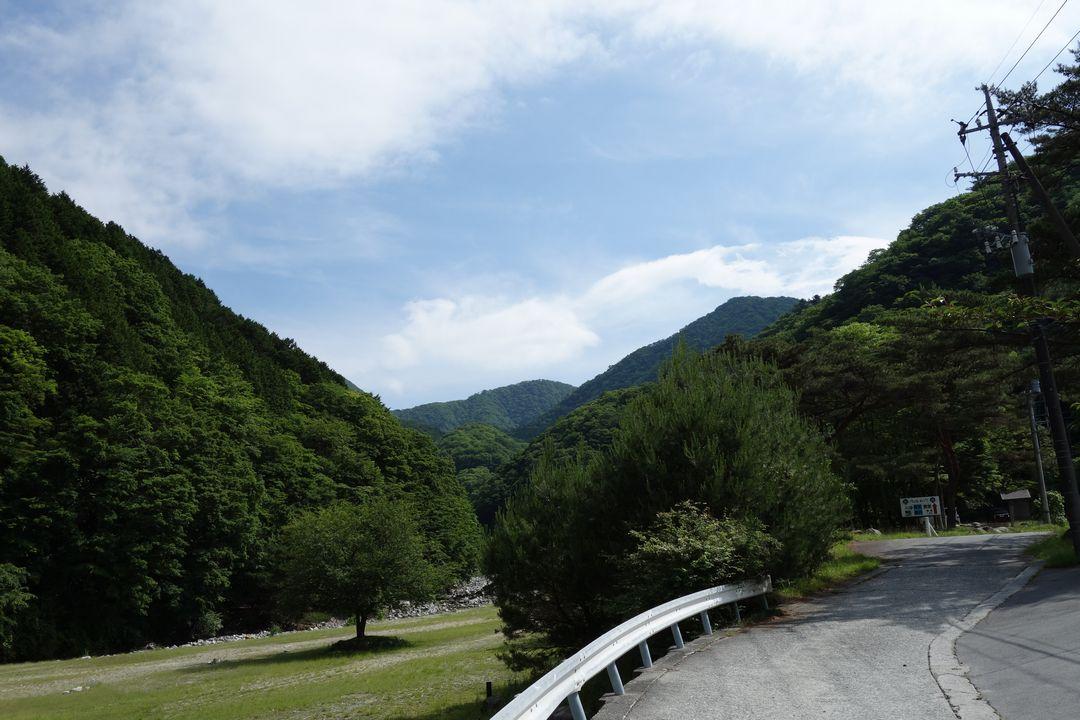 西丹沢自然教室付近から見た大室山