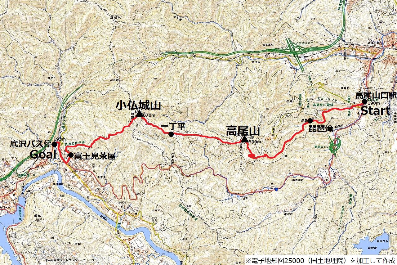 190810小仏城山_map
