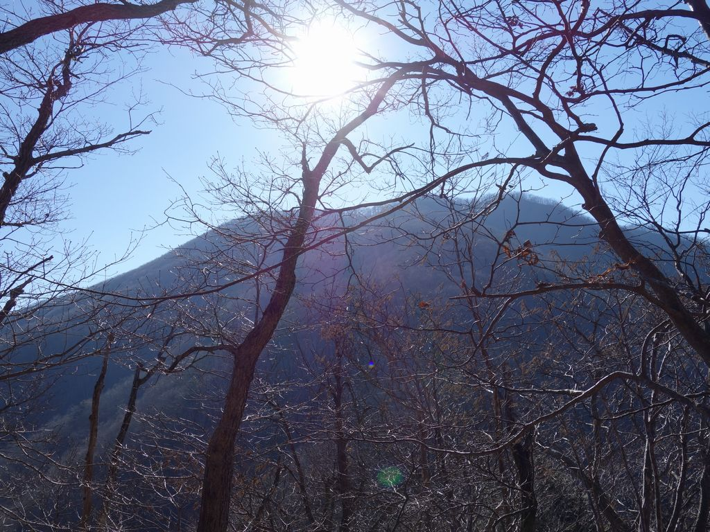 大鹿峠から見たお坊山