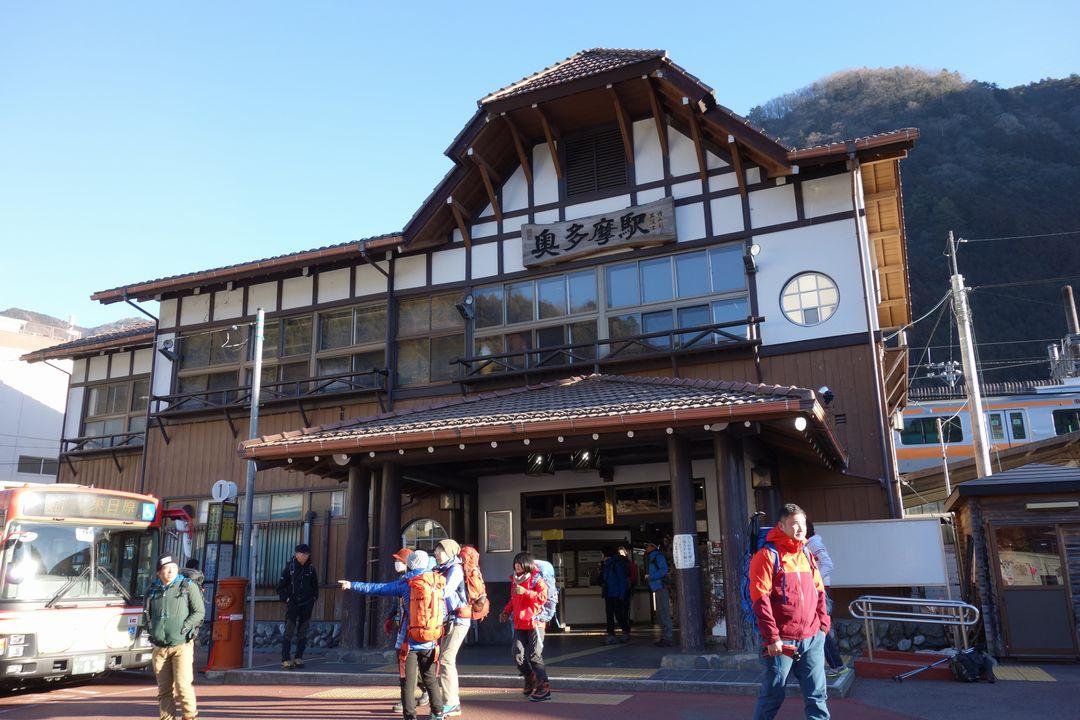 奥多摩駅の駅舎