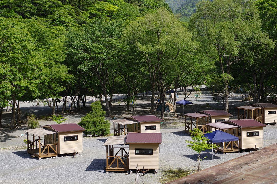 西丹沢のキャンプ場