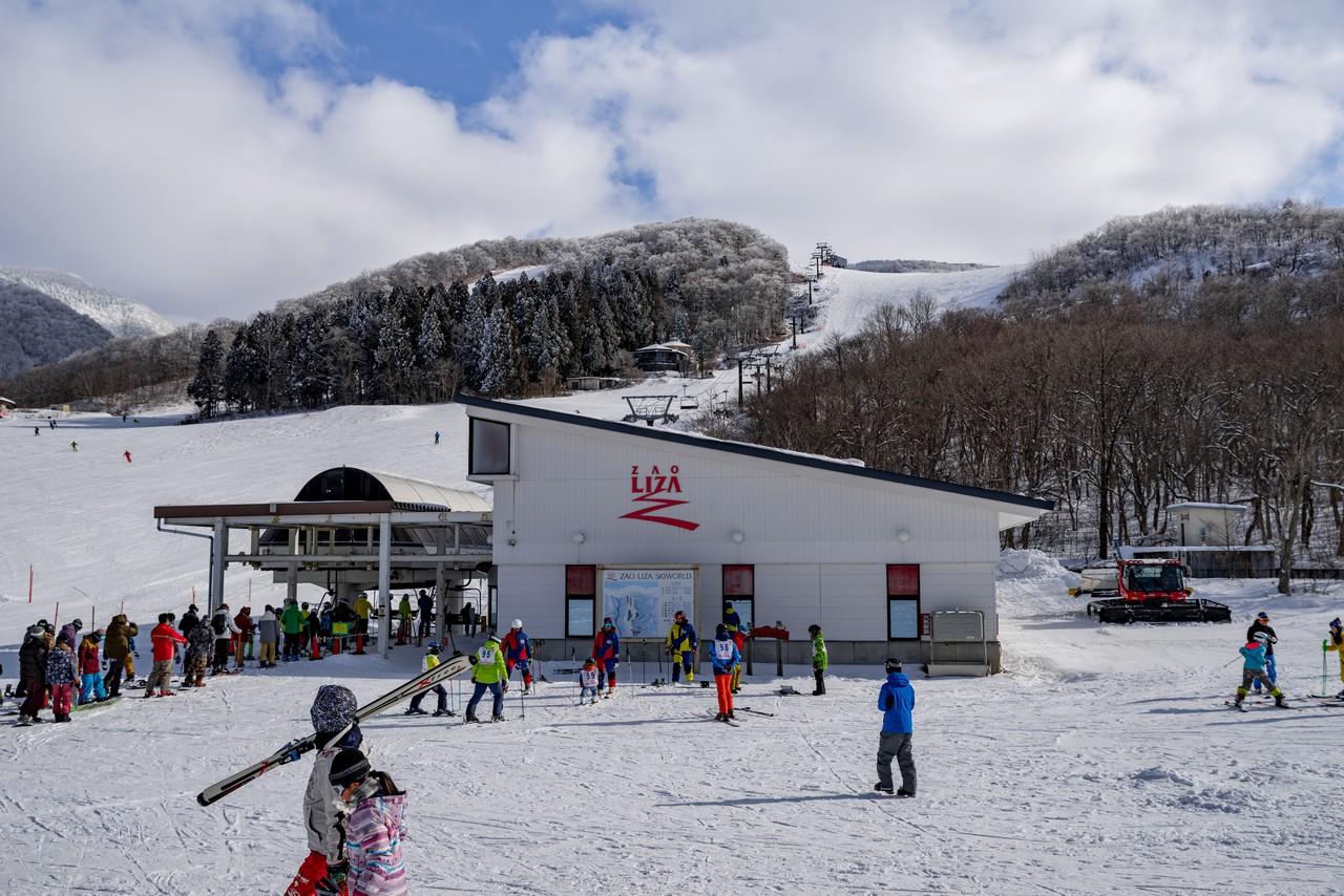 蔵王ライザワールドスキー場のリフト
