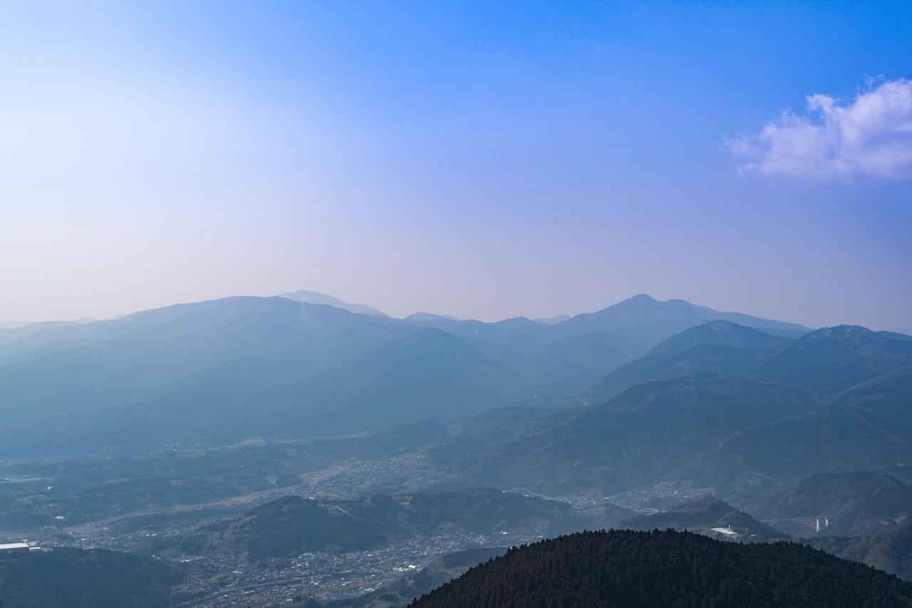 高松山 山頂からの展望