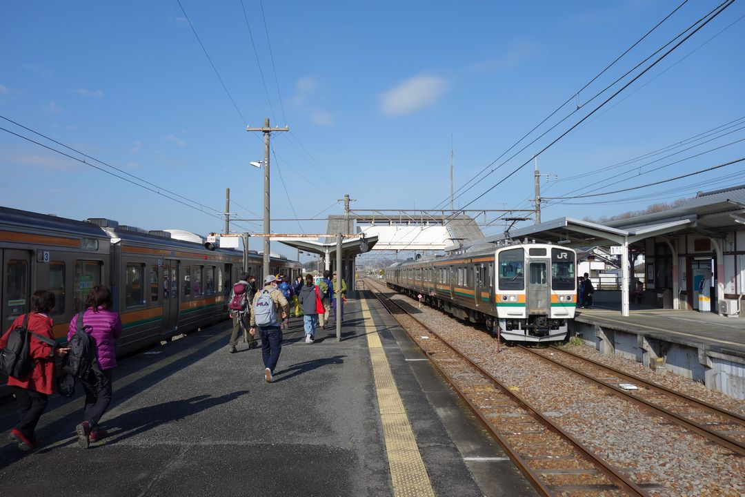 JR岩船駅のホーム