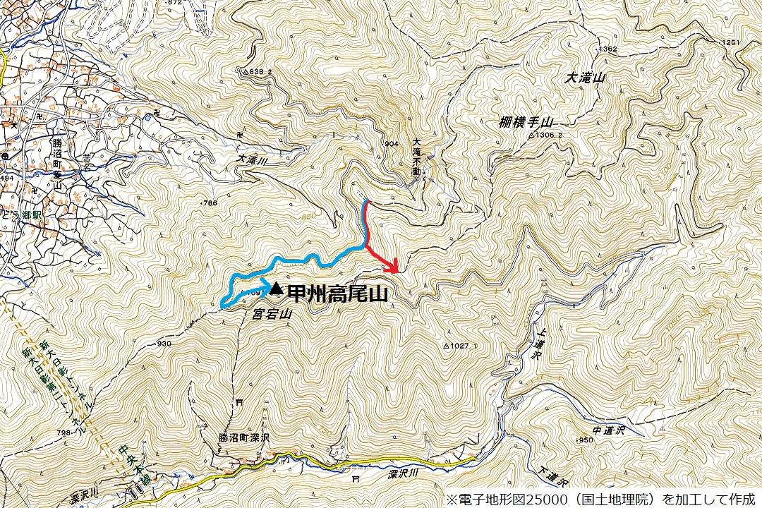 180408甲州高尾山_map2