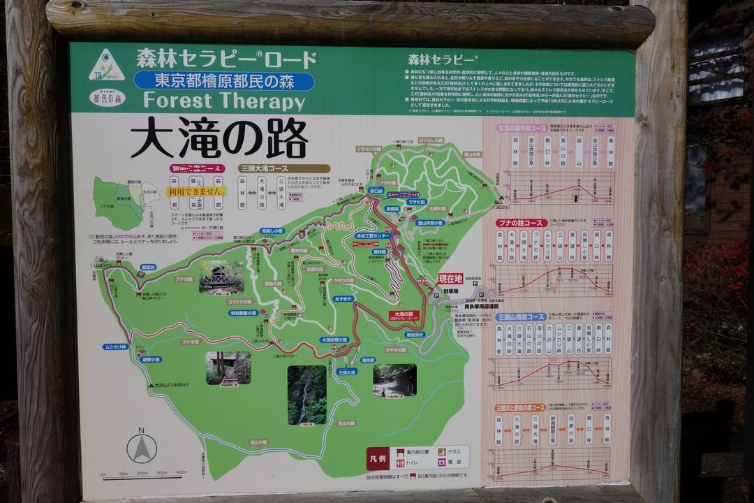 都民の森のマップ