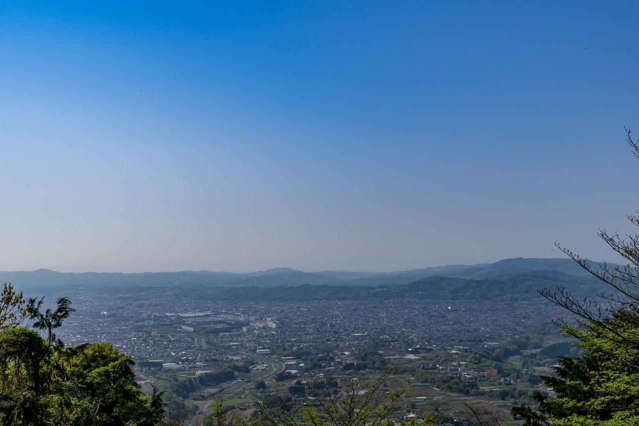 大倉高原の家からの眺望