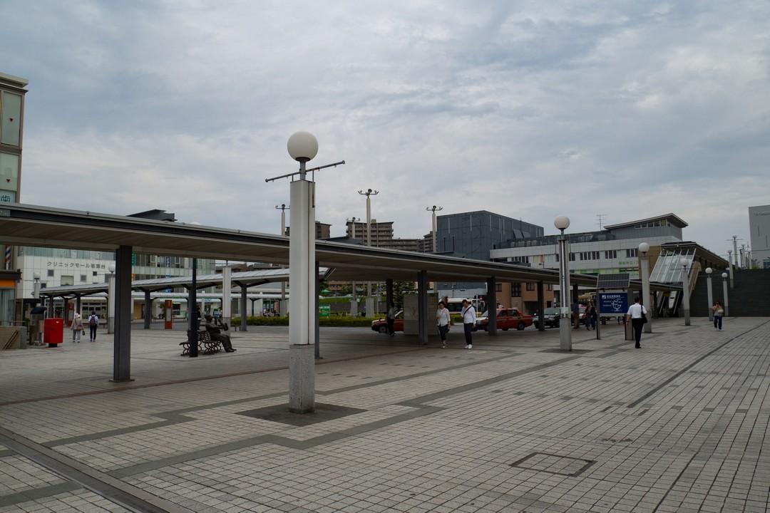 若葉台駅のロータリー