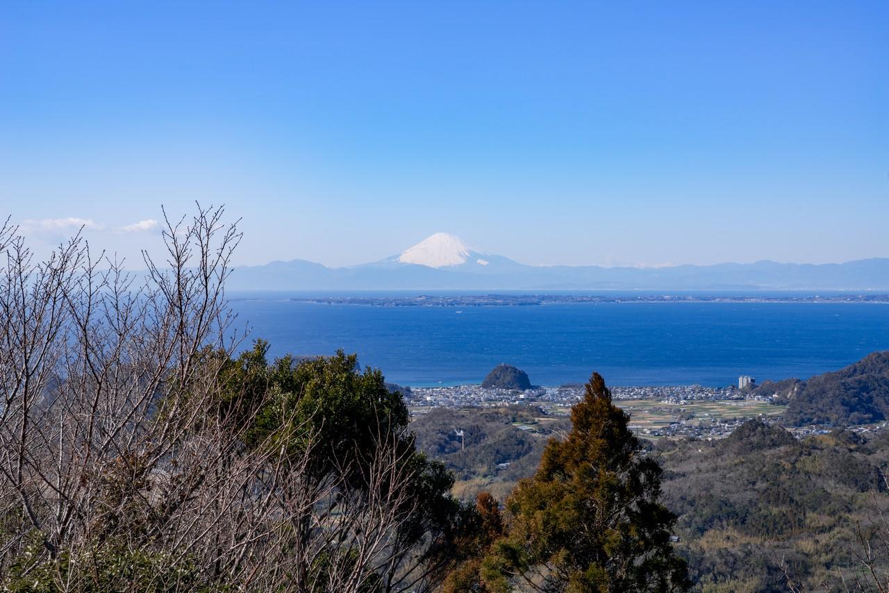 富山から見た富士山