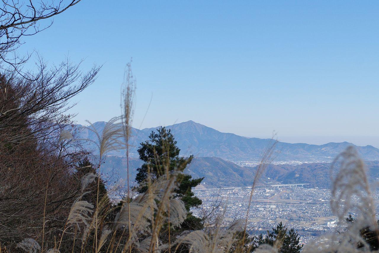 明神ヶ岳から見た大山