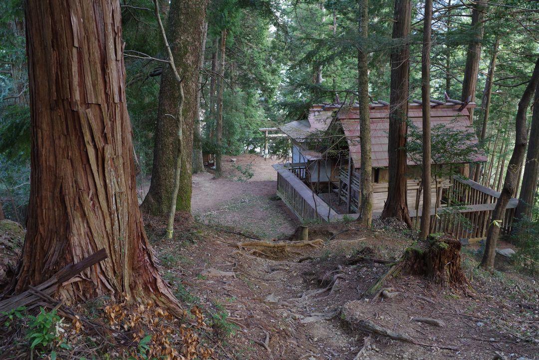 羽黒三田神社の境内