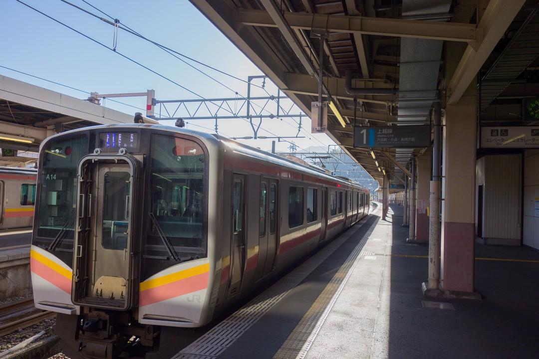 越後湯沢駅 在来線ホーム