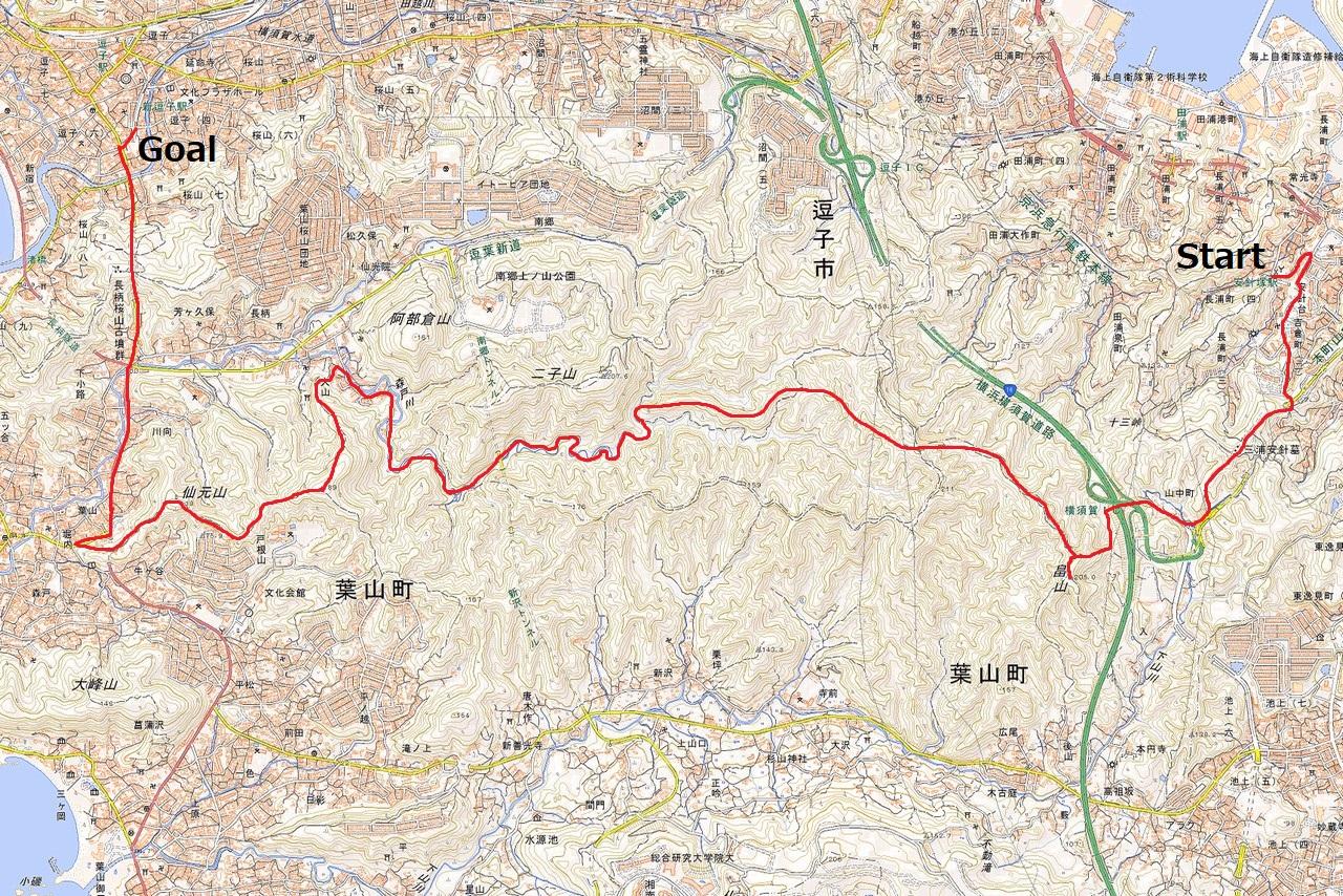 190309三浦アルプス_map