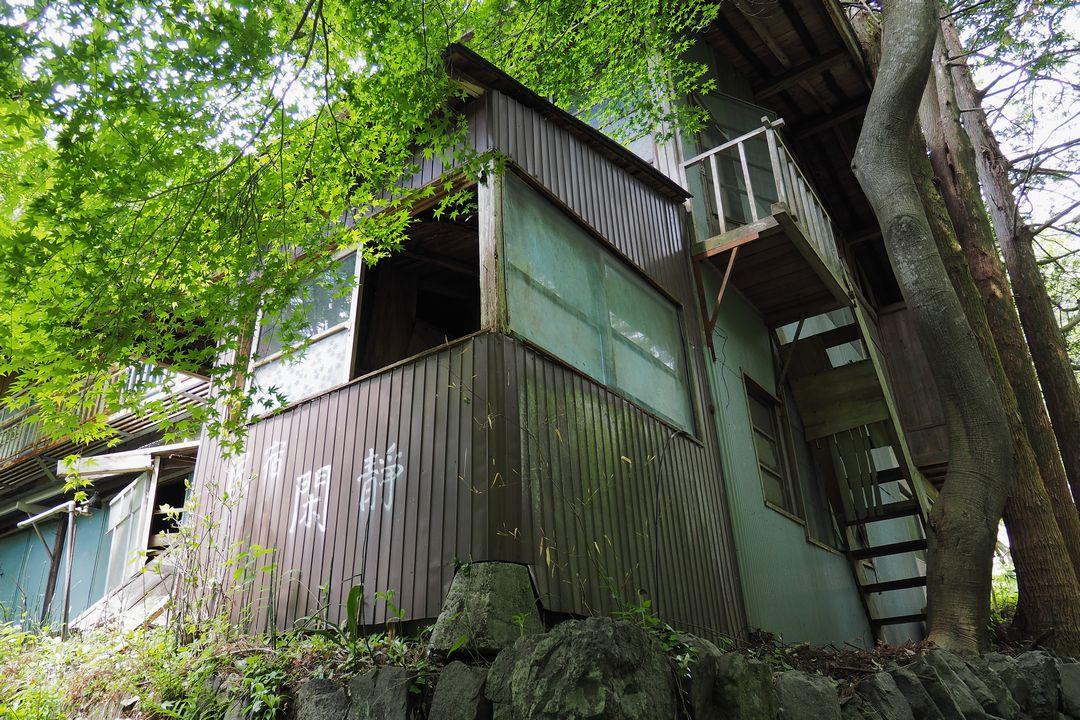 坂本の民宿跡