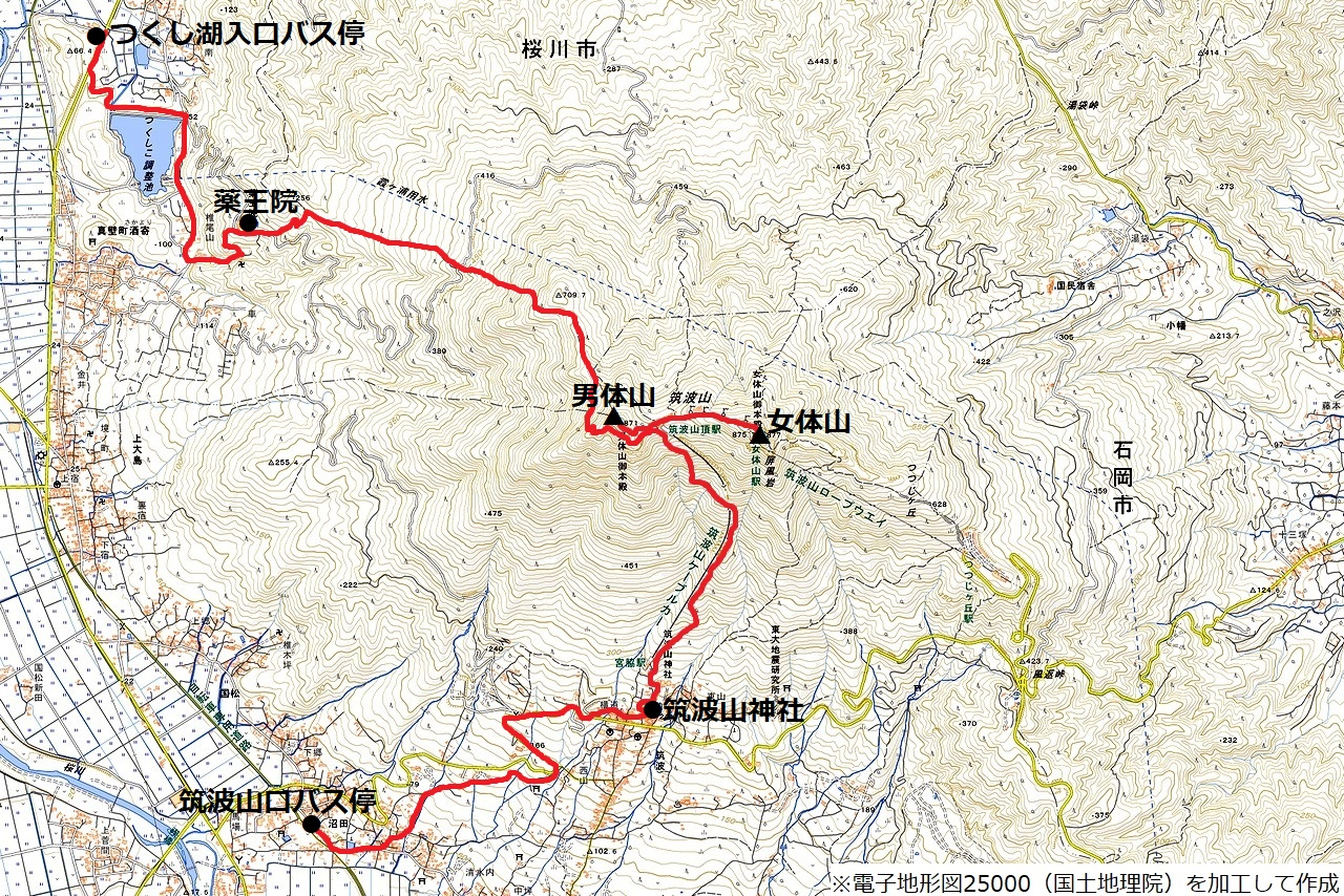 181202筑波山_map