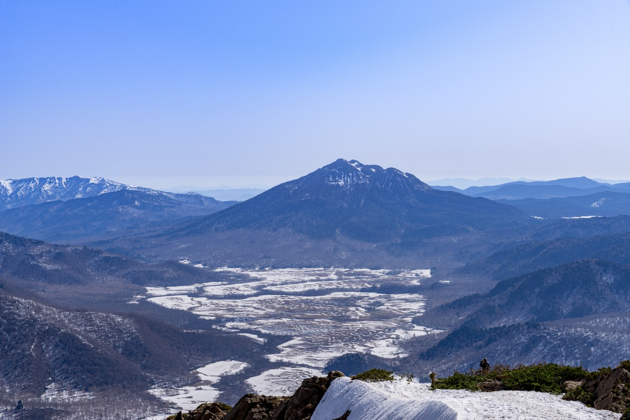 至仏山から見た尾瀬ヶ原