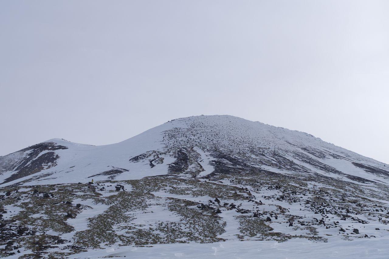 乗鞍岳 剣ヶ峰口から見た山頂